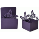 flourished butterfly box & matching card