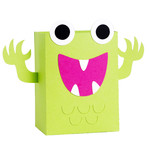 monster bag box - green