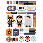 ml halloween costume dress up stickers