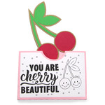 pocket coloring card - you are cherry beautiful