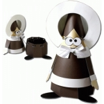 pilgrim girl cone container