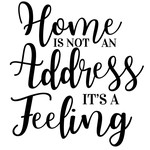 home not address feeling