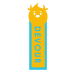 monster bookmark: devour