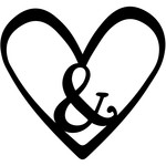 ampersand heart
