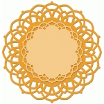 doily set of 2 scalloped center