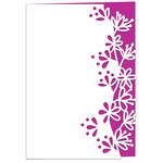 blackthorn lace edged card