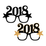 2018 glasses photobooth prop