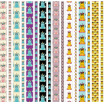 unicorn washi strips