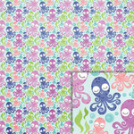 octopus background paper