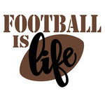 football is life phrase