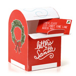 santa mailbox and envelope