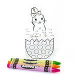 easter bunny coloring box
