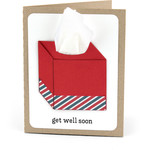 get well card tissue