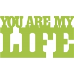 you are my life phrase