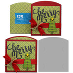 be merry gift card envelope bag