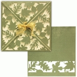 card wrap: square falling leaves