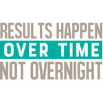 results happen over time