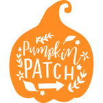 pumpkin patch lettering