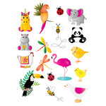 animal planner stickers