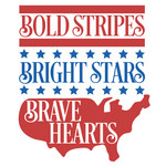 bold strip bright stars brave hearts