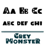 grey monster font