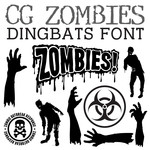 cg zombies dingbats