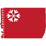 torn notebook snowflake