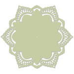 doily lacy edge hexagon