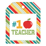 #1 teacher tag