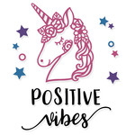 positive vibes unicorn