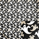 halloween ghosts background paper