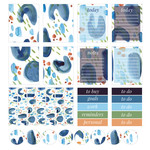 summer blues planner stickers