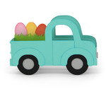 box card easter truck