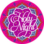 holy night indian inspired ornament