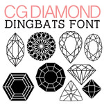 cg diamond dingbats