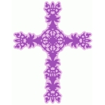 ornate cross
