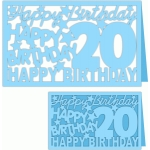 happy birthday 20 years card