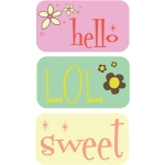 girlie tags