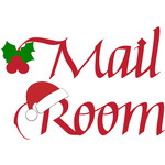 north pole mail room sign
