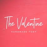 the valentine font