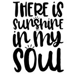 sunshine in my soul quote
