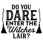 do you dare to enter the witches lair?