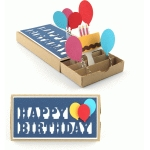 happy birthday pop up drawer card