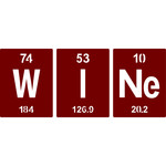 periodic table wine