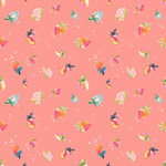 strawberry background pattern