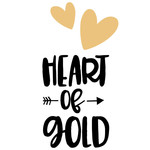 heart of gold arrow quote