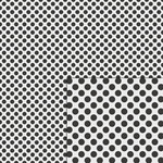 polka dots black pattern