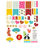 chinese planner stickers