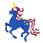 patriotic unicorn