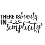 there is beauty in simplicity quote